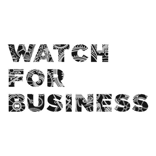 watch for business banner